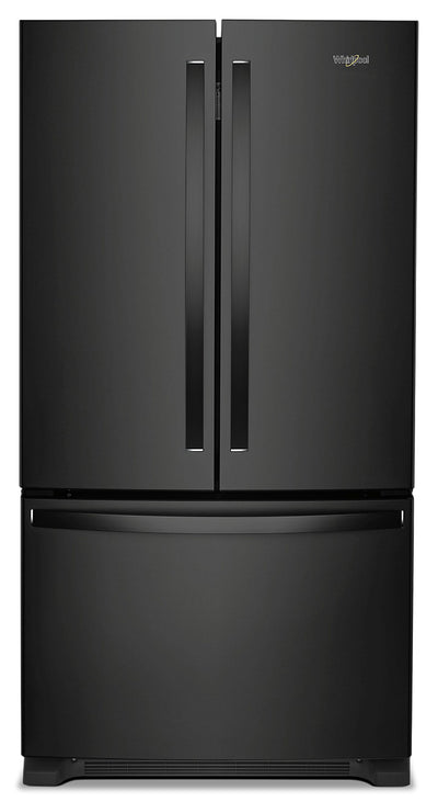 Whirlpool 20 Cu. Ft. Counter-Depth French-Door Refrigerator – WRF540CWHB