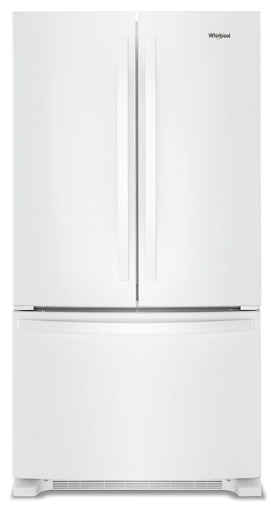 Whirlpool 20 Cu. Ft. Counter-Depth French-Door Refrigerator – WRF540CWHW