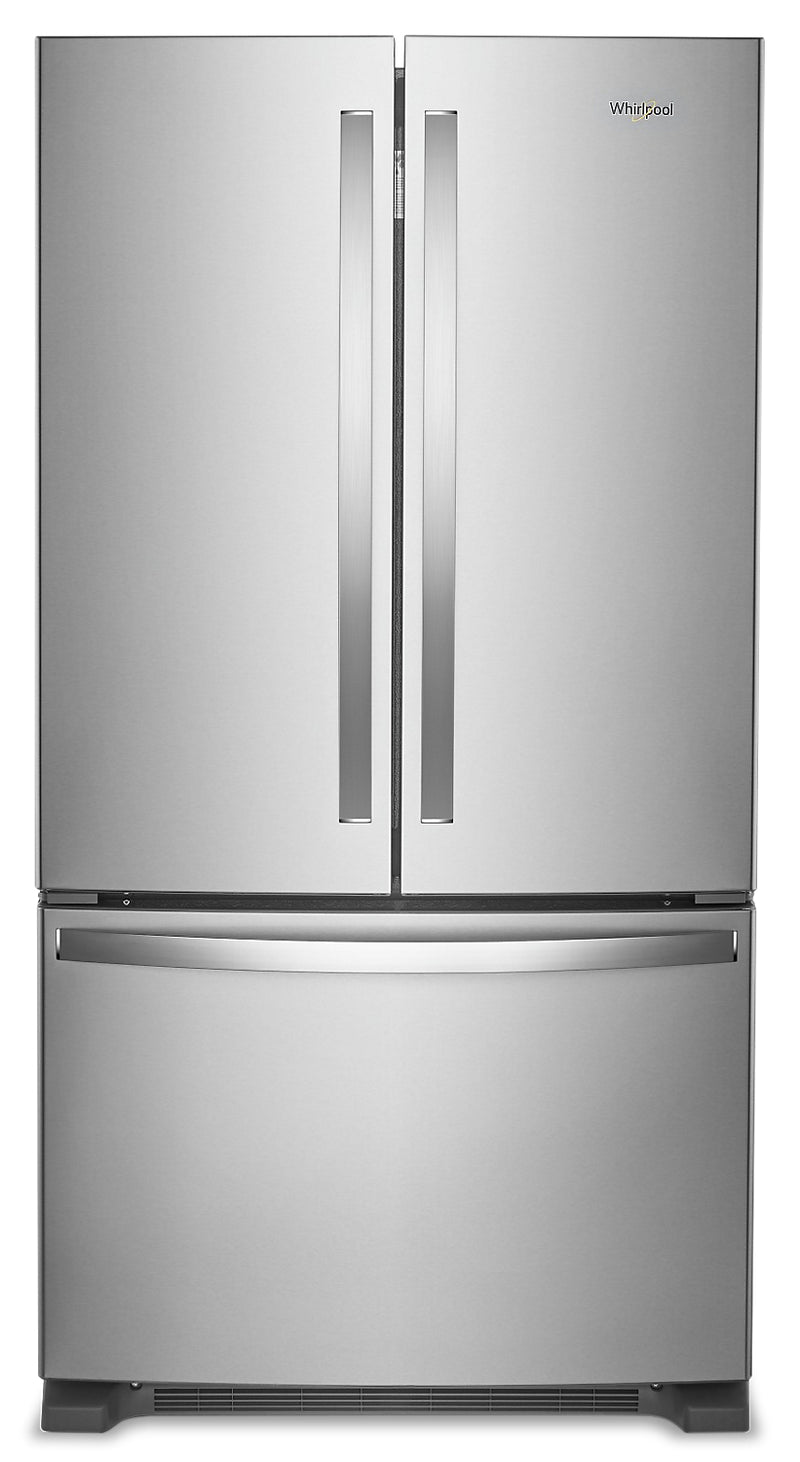 Whirlpool 20 Cu. Ft. Counter-Depth French-Door Refrigerator – WRF540CWHZ