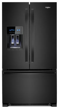 Whirlpool 25 Cu. Ft. French-Door Fingerprint-Resistant Refrigerator - WRF555SDHB