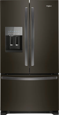 Whirlpool 25 Cu. Ft. French-Door Refrigerator in Fingerprint-Resistant Stainless Steel – WRF555SDHV