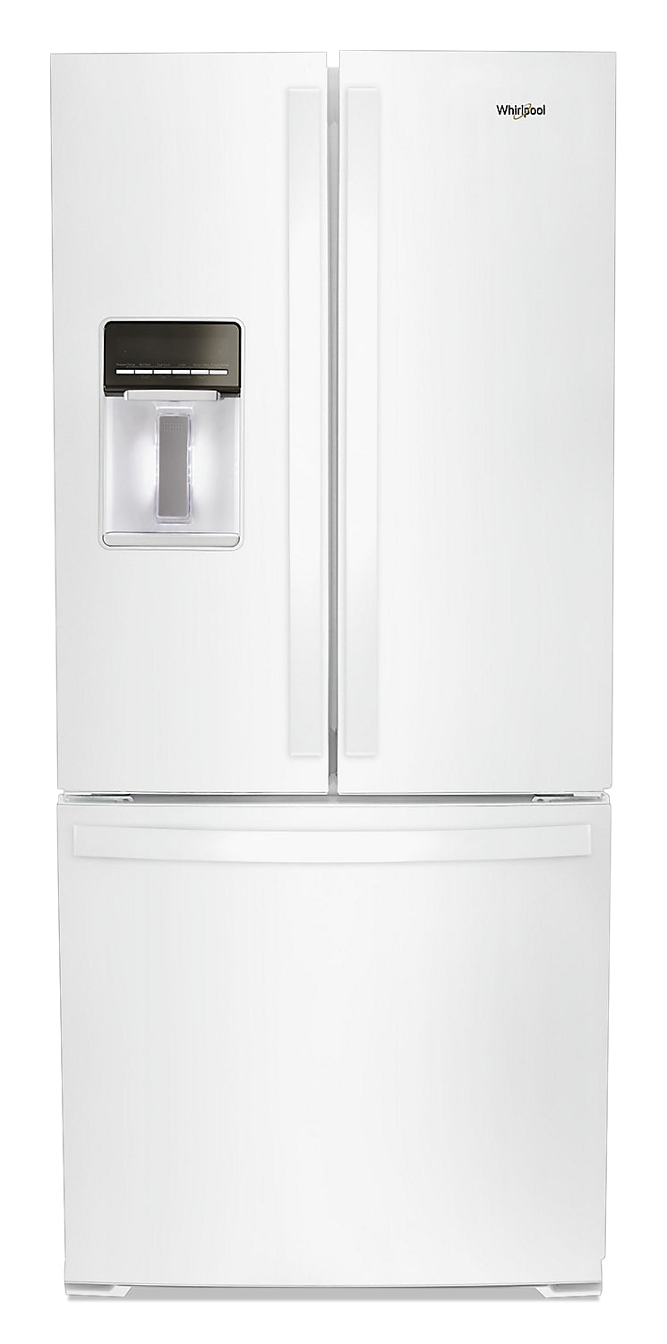 Whirlpool 20 Cu. Ft. French-Door Refrigerator - WRF560SEHW - Refrigerator in White