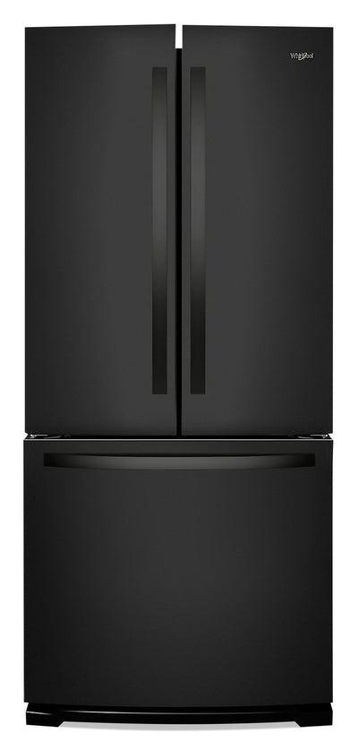 Whirlpool 20 Cu. Ft. Wide French-Door Refrigerator - WRF560SMHB - Refrigerator in Black