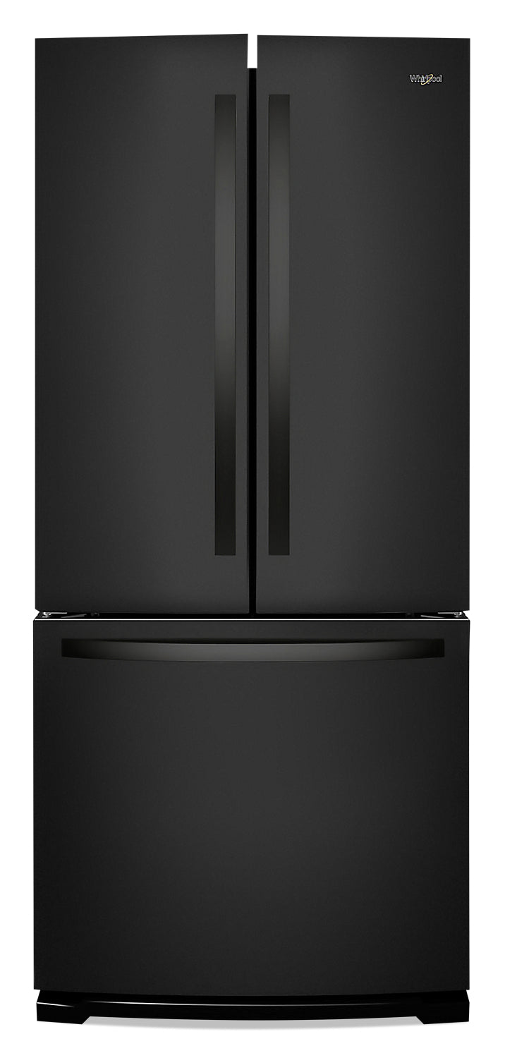 Whirlpool 20 Cu. Ft. Wide French-Door Refrigerator - WRF560SMHB|Réfrigérateur large de 20 pi3 Whirlpool à portes françaises - WRF560SMHB|WRF560MB