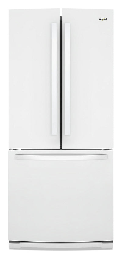Whirlpool 20 Cu. Ft. Wide French-Door Refrigerator - WRF560SMHW - Refrigerator in White