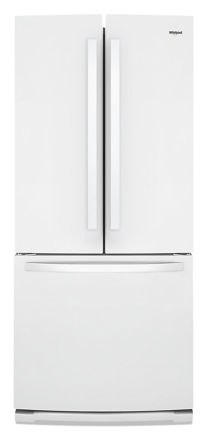 Whirlpool 20 Cu. Ft. Wide French-Door Refrigerator - WRF560SMHW|Réfrigérateur large de 20 pi3 Whirlpool à portes française - WRF560SMHW|WRF560MW