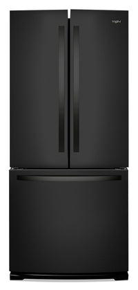 Whirlpool 20 Cu. Ft. Wide French-Door Refrigerator - WRF560SFHB
