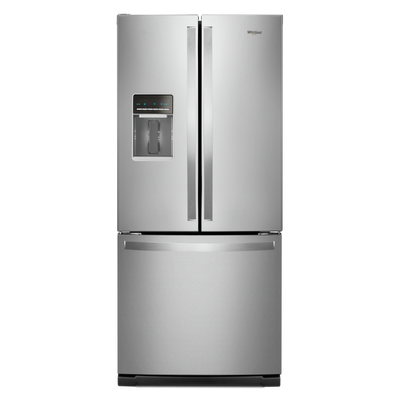 Whirlpool 20 Cu. Ft. French-Door Refrigerator - WRF560SEHZ - Refrigerator in Fingerprint Resistant Stainless Steel