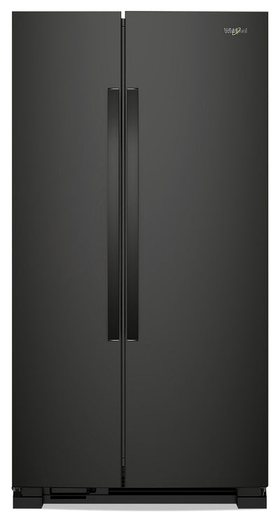Whirlpool 25 Cu. Ft. Side-by-Side Refrigerator - WRS315SNHB - Refrigerator in Black