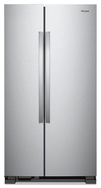 Whirlpool 25 Cu. Ft. Side-by-Side Refrigerator - WRS315SNHM - Refrigerator in Monochromatic Stainless Steel