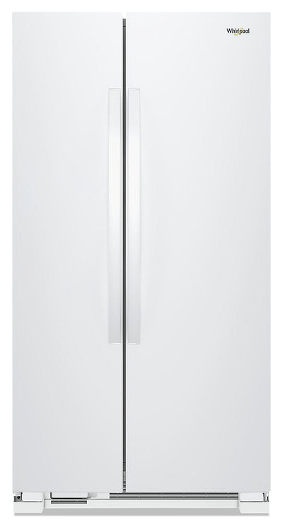 Whirlpool 25 Cu. Ft. Side-by-Side Refrigerator - WRS315SNHW - Refrigerator in White
