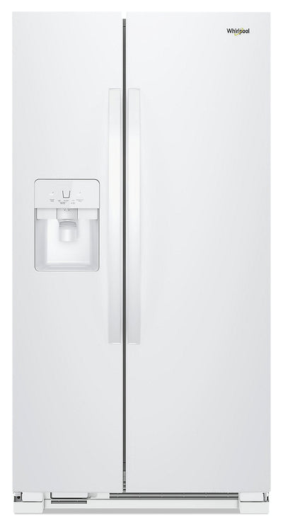 Whirlpool 21 Cu. Ft. Side-by-Side Refrigerator - WRS321SDHW - Refrigerator in White