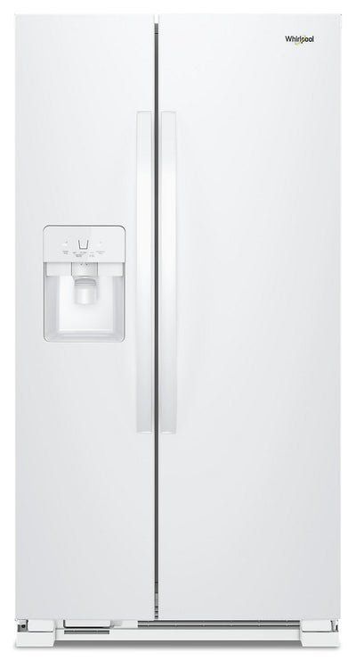 Whirlpool 25 Cu. Ft. Side-by-Side Refrigerator - WRS325SDHW - Refrigerator in White