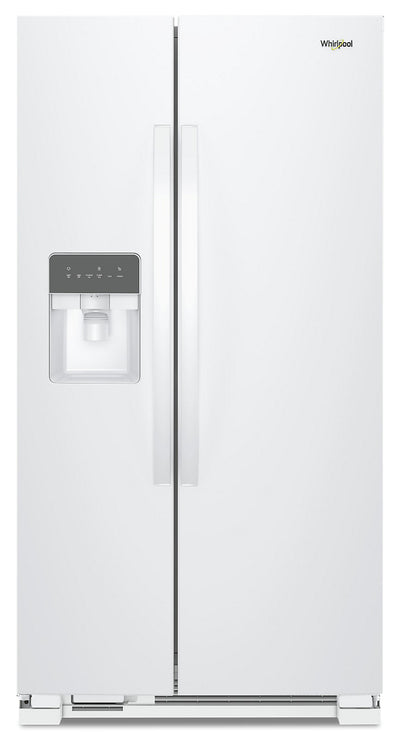 Whirlpool 21 Cu. Ft. Side-by-Side Refrigerator - WRS331SDHW - Refrigerator in White