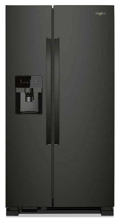 Whirlpool 25 Cu. Ft. Side-by-Side Refrigerator - WRS335SDHB - Refrigerator in Black