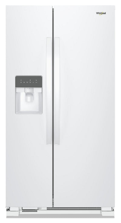 Whirlpool 25 Cu. Ft. Side-by-Side Refrigerator - WRS335SDHW - Refrigerator in White
