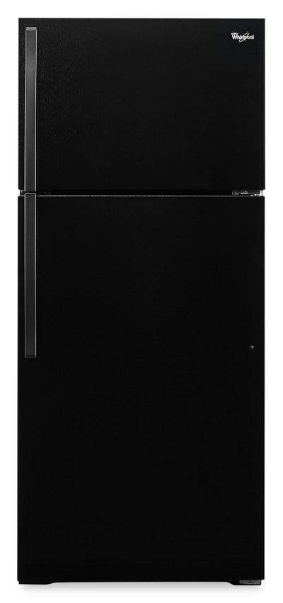 Whirlpool 14.3 Cu. Ft. Top-Freezer - WRT134TFDB - Refrigerator in Black