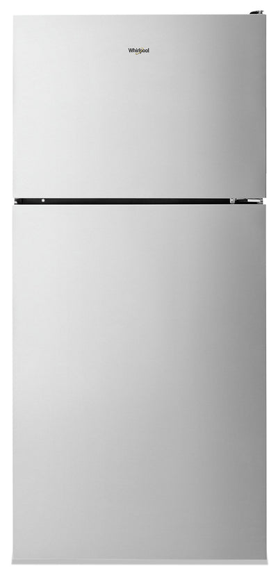 Whirlpool 18 Cu. Ft. Top Freezer Refrigerator - WRT348FMEZ - Refrigerator in Fingerprint Resistant Stainless Steel