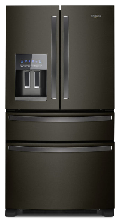 Whirlpool 25 Cu. Ft. French-Door Refrigerator - WRX735SDHV - Refrigerator in Black Stainless