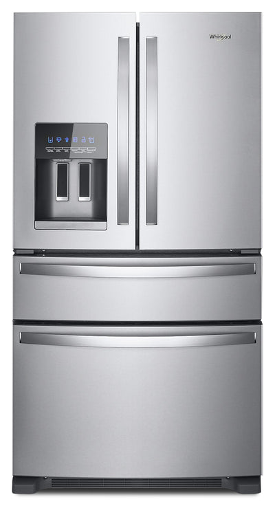 Whirlpool 25 Cu. Ft. French-Door Refrigerator - WRX735SDHZ - Refrigerator in Fingerprint Resistant Stainless Steel