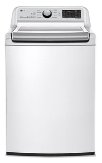 LG 5.8 Cu.Ft Top-Load Smart Washer with TurboWash® - WT7300CW