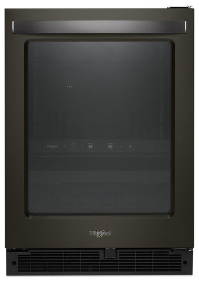 Whirlpool 5.2 Cu. Ft. Under-Counter Beverage Centre - WUB50X24HV - Refrigerator in Black Stainless