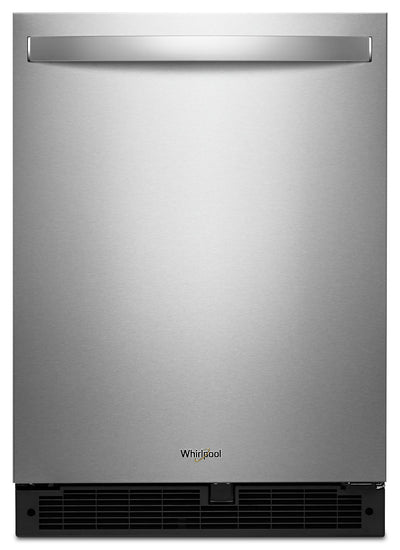 Whirlpool 5.1 Cu. Ft. Under-Counter Refrigerator - WUR50X24HZ - Refrigerator in Fingerprint Resistant Stainless Steel