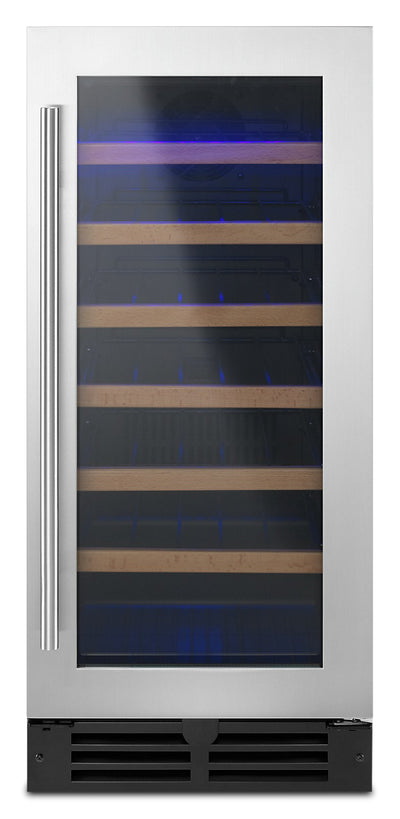 Whirlpool Under-Counter Wine Centre - WUW35X15DS - Refrigerator in Black-on-Stainless