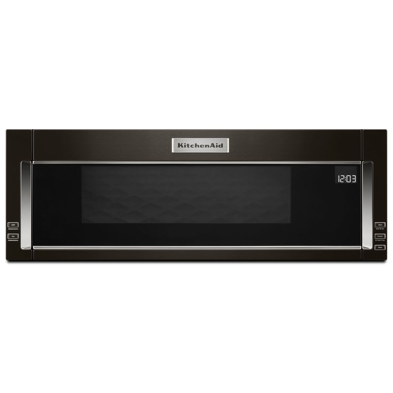 KitchenAid 1.1 Cu. Ft. Low-Profile Microwave Hood Combination – YKMLS311HBS|Four à micro-ondes à hotte intégrée et à profil bas de KitchenAid de 1,1 pi³ - YKMLS311HBS