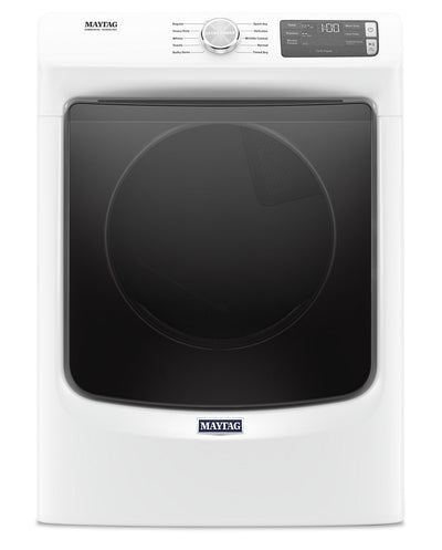 Maytag 7.3 Cu. Ft. Front-Load Gas Dryer with Extra Power - MGD5630HW|Sécheuse gaz Maytag à chargement frontal 7,3 pi3, fonction Extra Power - MGD5630HW|MGD5630W