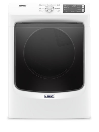 Maytag 7.3 Cu. Ft. Front-Load Gas Dryer with Extra Power and Steam - MGD6630HW|Sécheuse gaz Maytag à chargement frontal 7,3 pi3, fonction Extra Power et vapeur - MGD6630HW|MGD6630W