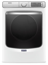 Maytag 7.3 Cu. Ft. Smart Front-Load Gas Dryer with Extra Power and Steam – MGD8630HW