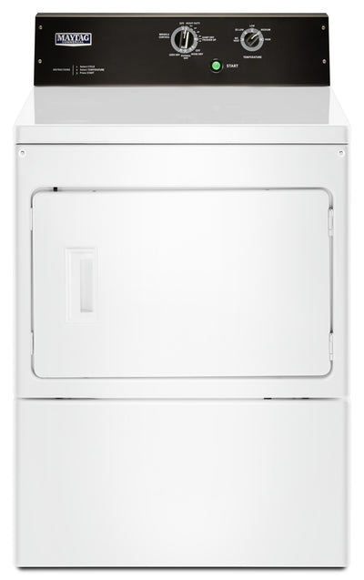 Maytag 7.4 Cu. Ft. Commercial-Grade Residential Electric Dryer - YMEDP575GW|Sécheuse de Maytag, résidentielle de qualité commerciale, 7,4 pi3 - YMEDP575GW|YMEDP575