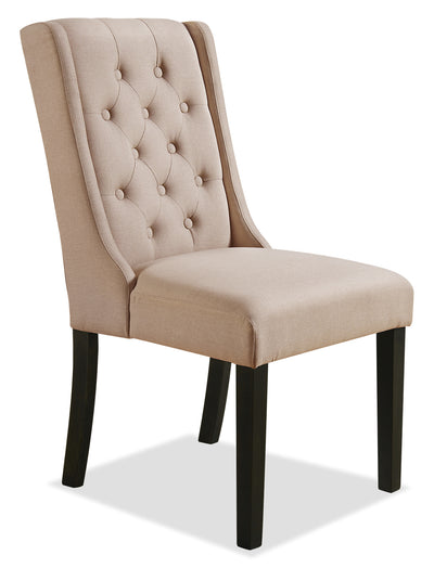 York Wingback Dining Chair – Taupe|Chaise à oreilles de salle à manger York – taupe|YRK2TWSC