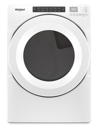 Whirlpool 7.4 Cu. Ft. Front-Load Electric Dryer with Intuitive Touch Controls – YWED5620HW