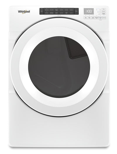 Whirlpool 7.4 Cu. Ft. Front-Load Gas Dryer with Intuitive Touch Controls - WGD5620HW|Sécheuse gaz Whirlpool chargement frontal 7,4 pi3 commandes tactiles intuitives - YWED5620HW|WGD5620W