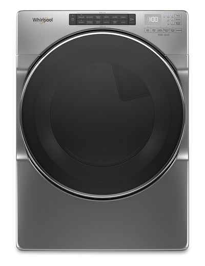 Whirlpool 7.4 Cu. Ft. Front-Load Electric Dryer with Steam - YWED6620HC|Sécheuse électrique Whirlpool chargement frontal 7,4 pi3 commandes tactiles intuitives - YWED6620HC|YWED662C