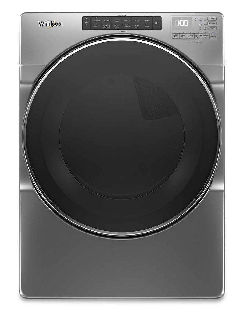 Whirlpool 7.4 Cu. Ft. Front-Load Electric Dryer with Steam – YWED6620HC|YWED662C