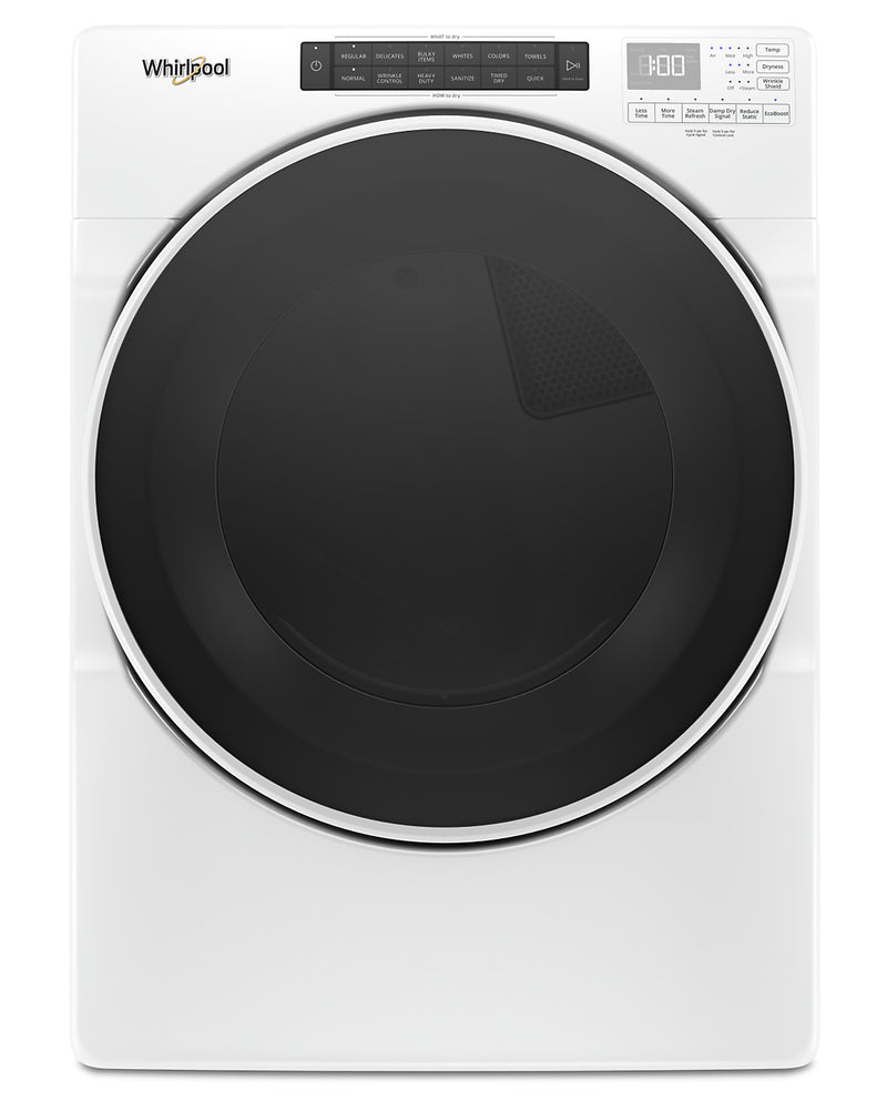 Whirlpool 7.4 Cu. Ft. Front-Load Electric Dryer with Steam - YWED6620HW|Sécheuse électrique Whirlpool à chargement frontal de 7,4 pi³ - YWED6620HW|YWED662W