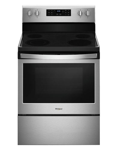 Whirlpool 5.3 Cu. Ft. Self-Cleaning Electric Range – YWFE521S0HS - Electric Range in Stainless Steel