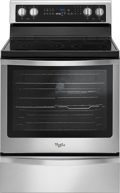 Whirlpool 6.4 Cu. Ft. Freestanding Electric Range - YWFE745H0FS|Cuisinière électrique amovible Whirlpool de 6,4 pi³ - YWFE745H0FS|YWFE745S