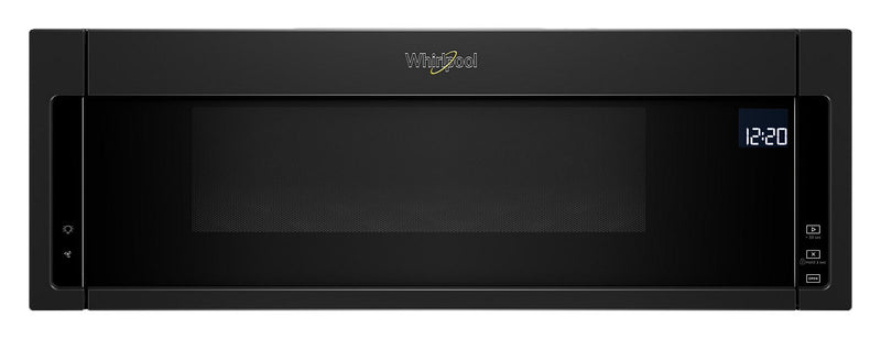 Whirlpool 1.1 Cu. Ft. Low-Profile Microwave Hood Combination – YWML75011HB|Whirlpool Four micro-ondes 1,1 pi³ - YWML75011HB|YWML75HB