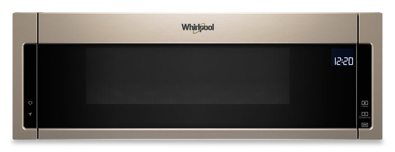 Whirlpool® 1.1 Cu. Ft. Low-Profile Microwave Hood Combination – YWML75011HN|Whirlpool Four micro-ondes 1,1 pi³ - YWML75011HN