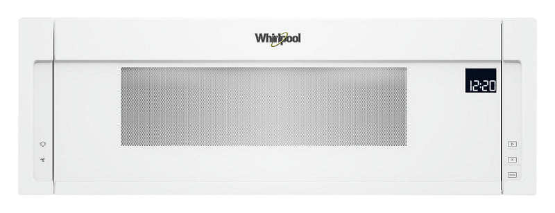 Whirlpool® 1.1 Cu. Ft. Low-Profile Microwave Hood Combination – YWML75011HW|Whirlpool Four micro-ondes 1,1 pi³ - YWML75011HW