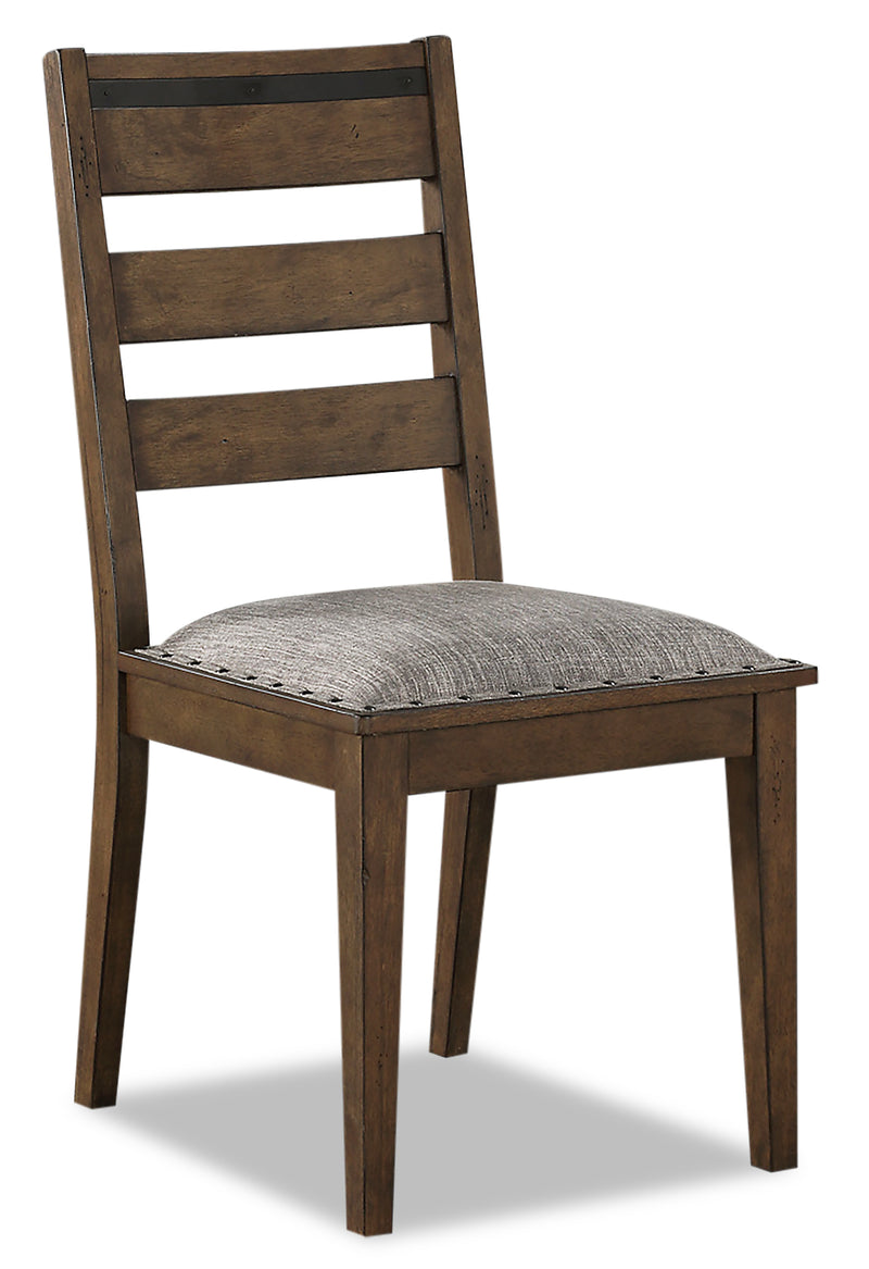 Zane Dining Chair - {Modern} style Dining Chair in Brown {Rubberwood}