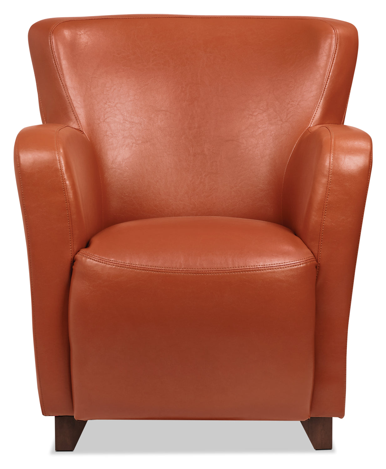 Awesome Zello Bonded Leather Accent Chair Spice Pdpeps Interior Chair Design Pdpepsorg