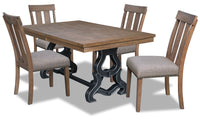 Zena 5-Piece Dining Room Package
