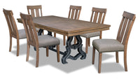 Zena 7-Piece Dining Room Package