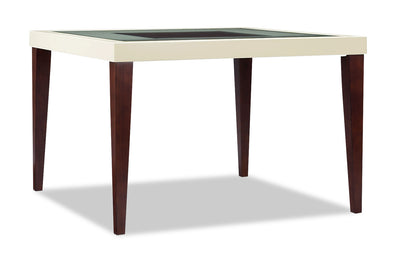 Zeno Counter-Height Dining Table - Modern style Dining Table in Cherry Poplar Solids and Cherry Veneers