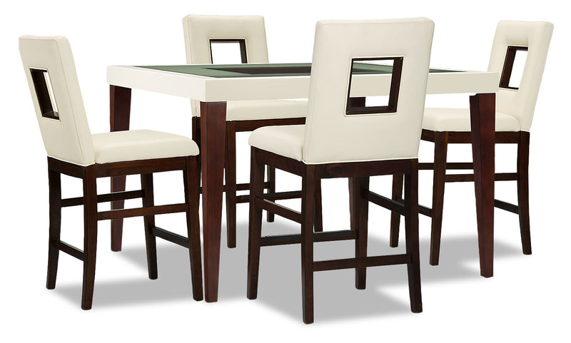 Zenoe 5-Piece Counter-Height Dining Package